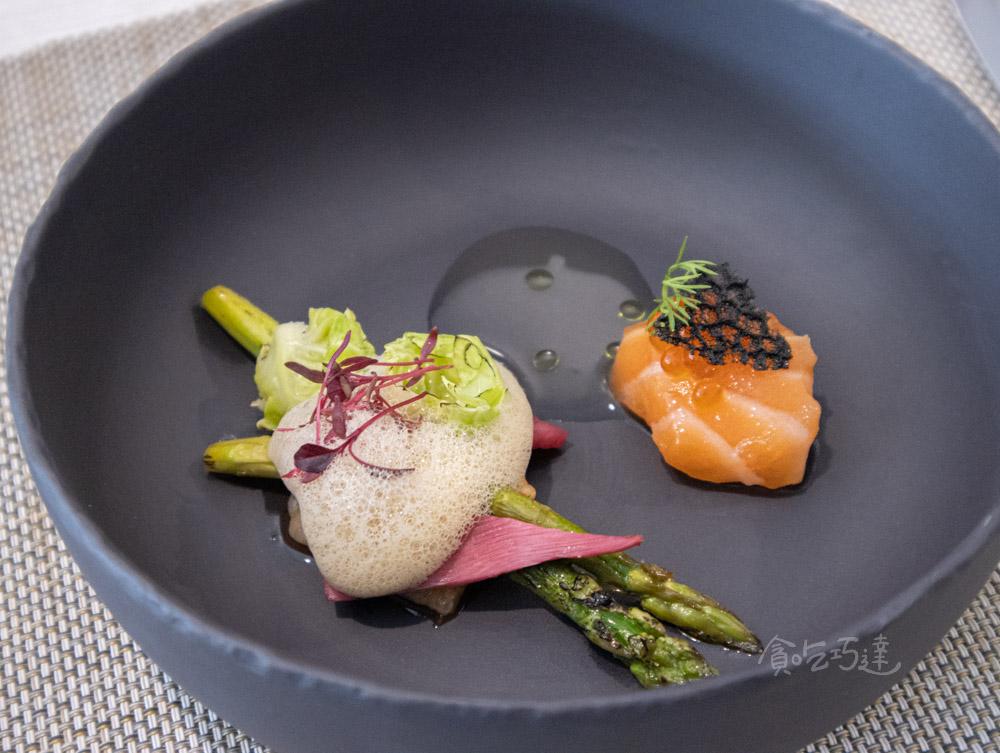 品法 Restaurant revivre 兩種風味鮭魚