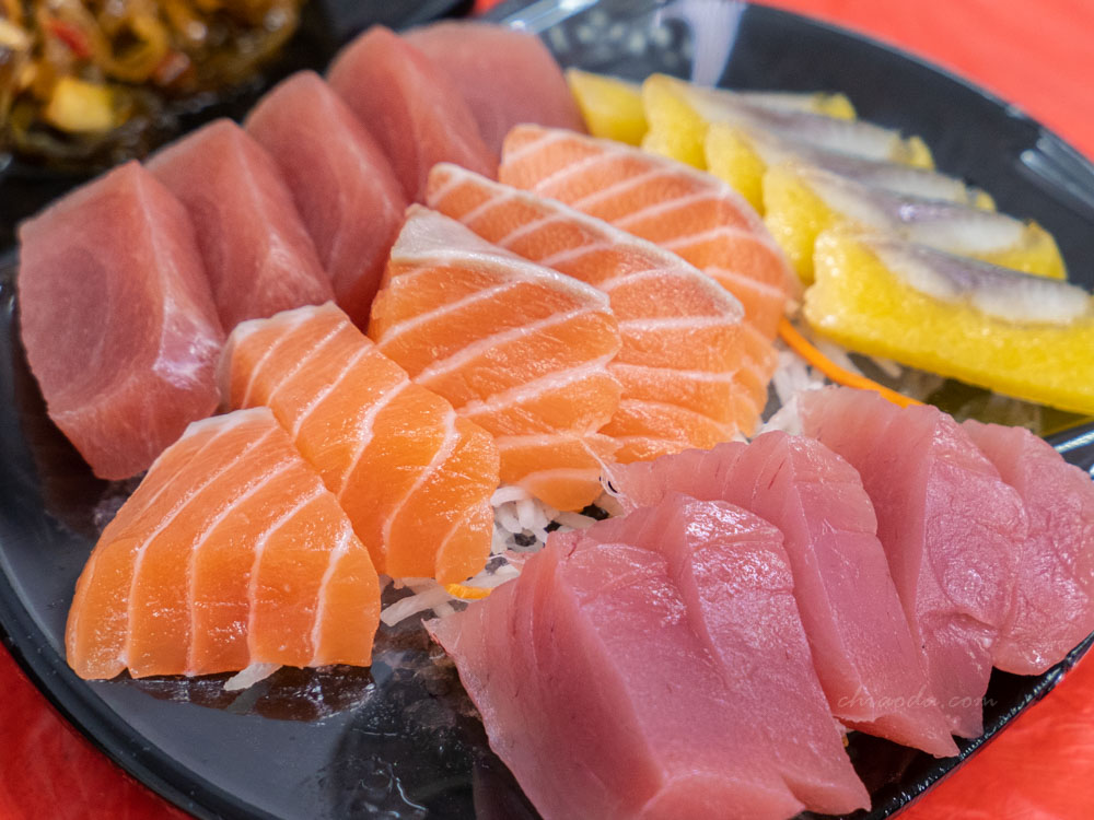 阿興生魚片 綜合生魚片 墾丁海產 墾丁生魚片