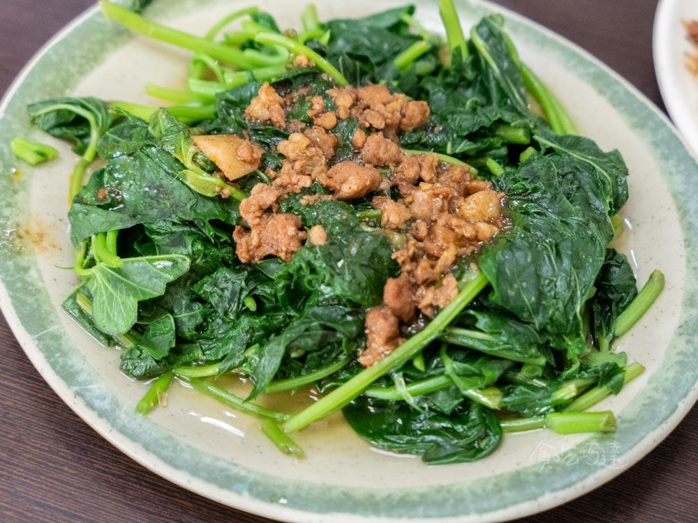 頂吉火雞肉飯 燙青菜