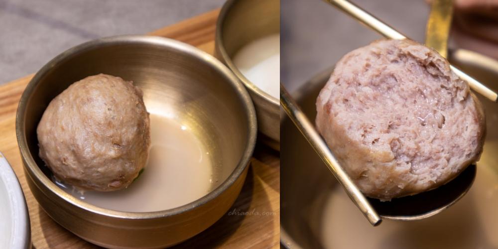 人生麵館 和牛蔥拌麵 爆漿貢丸