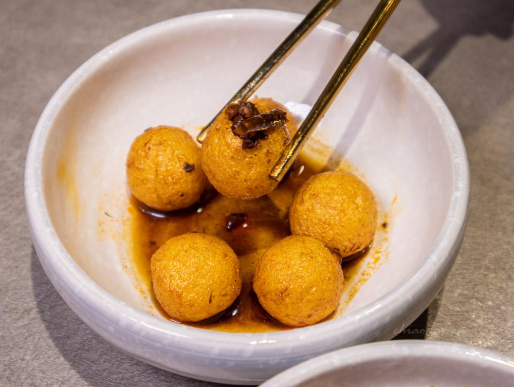 人生麵館 麻辣黃金魚蛋