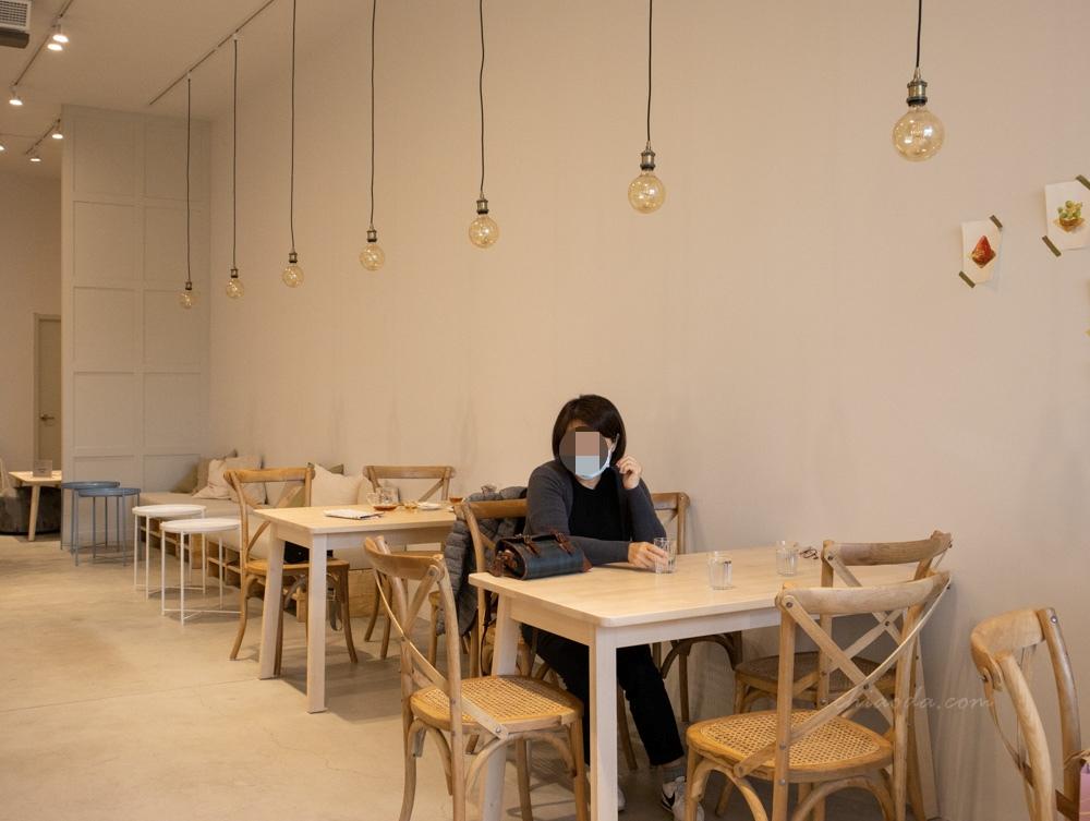 二月森甜點工作室 內用環境