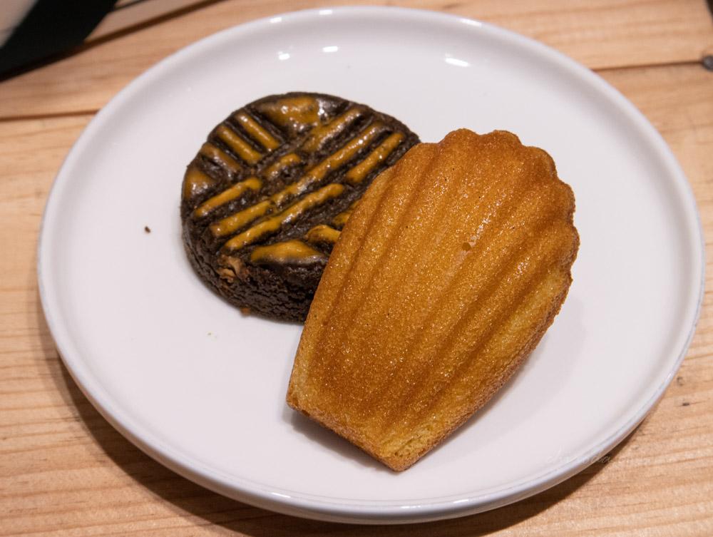 二月森 香草瑪德蓮 焙茶焦糖腰果布列塔尼酥餅