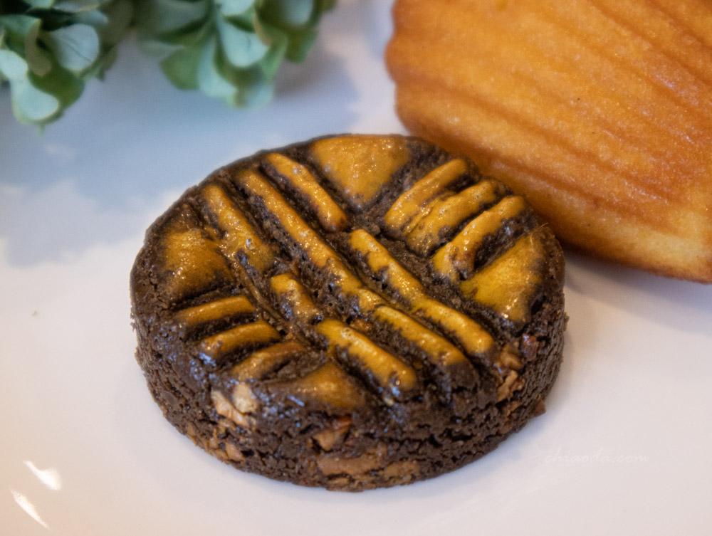 二月森 焙茶焦糖腰果布列塔尼酥餅
