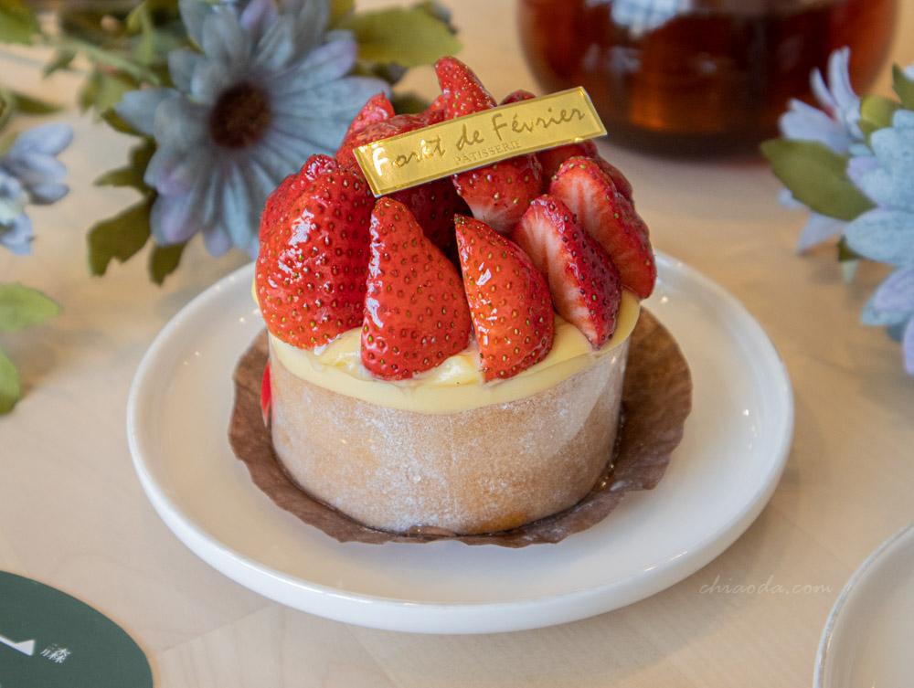 二月森 草莓奶油蛋糕 台中法式甜點推薦