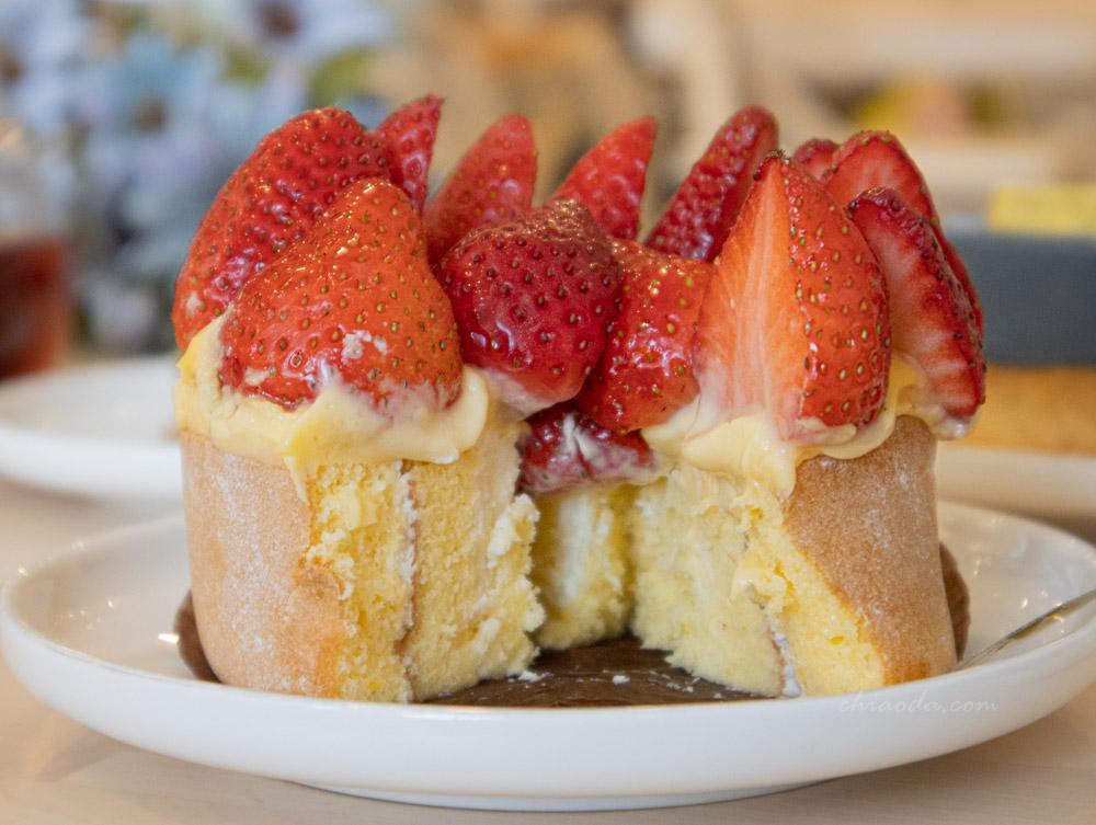 二月森 草莓奶油蛋糕