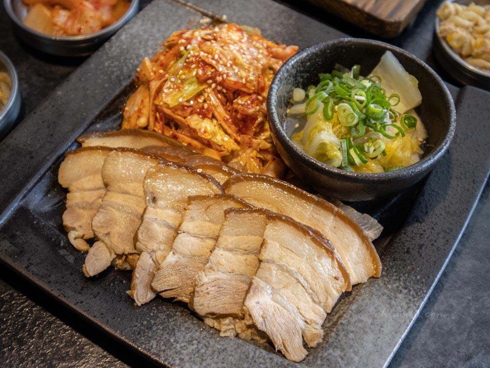 拉拉廚房 五花肉拼盤 台中韓式五花肉