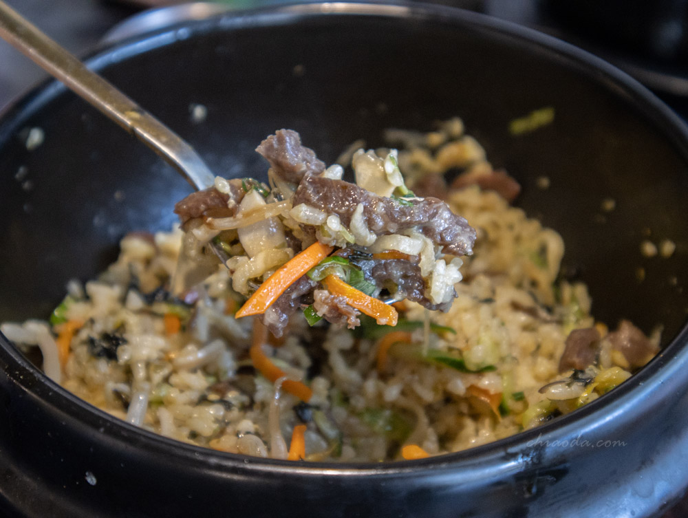 拉拉廚房 生牛肉石鍋拌飯