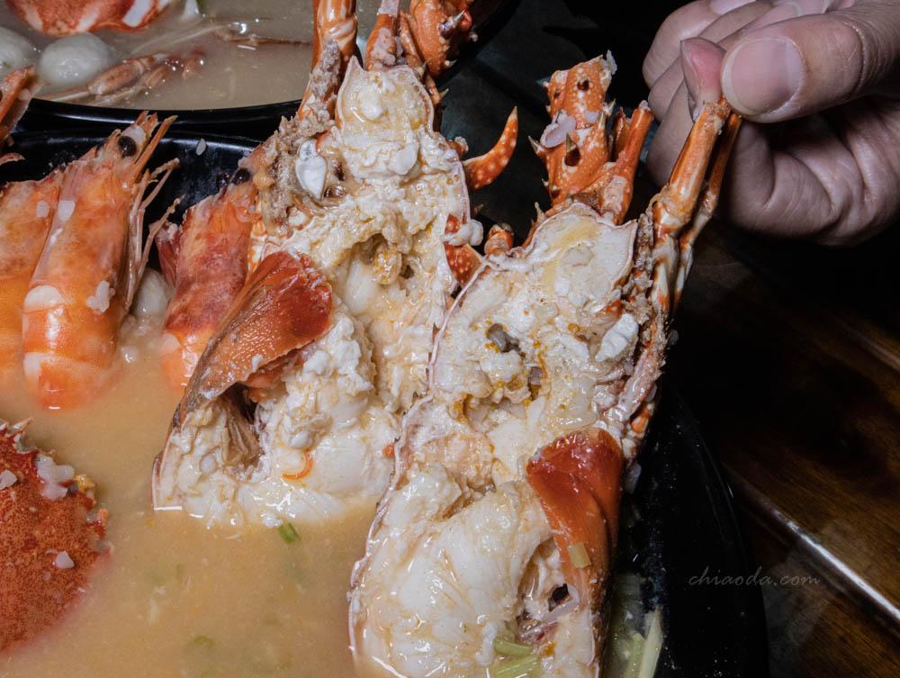 江湖客棧海鮮粥 龍蝦 豐原美食
