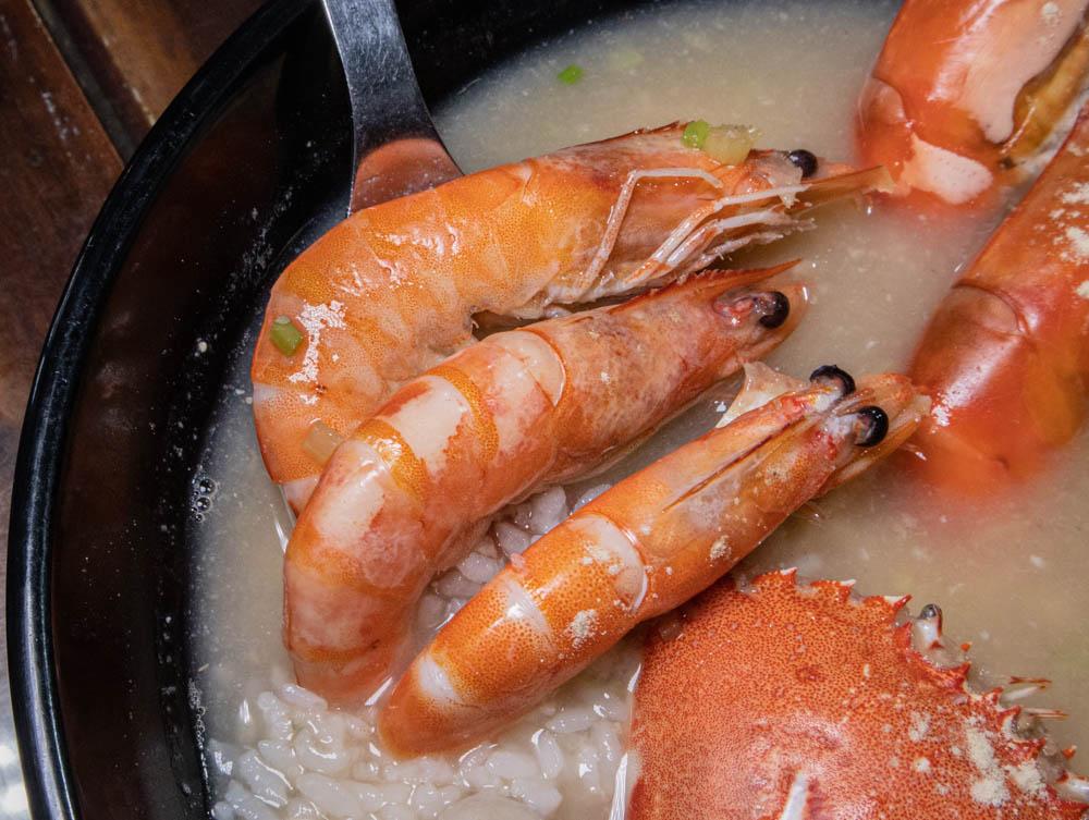 江湖客棧 手臂蝦海鮮湯飯