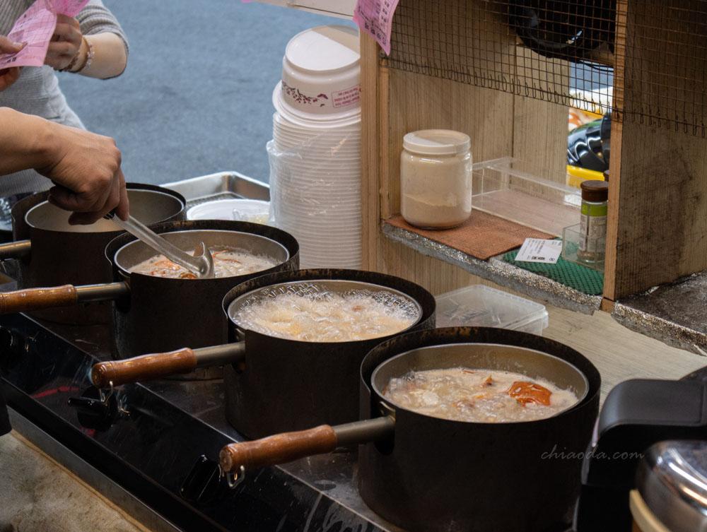 江湖客棧海鮮粥 現煮現做 豐原必吃