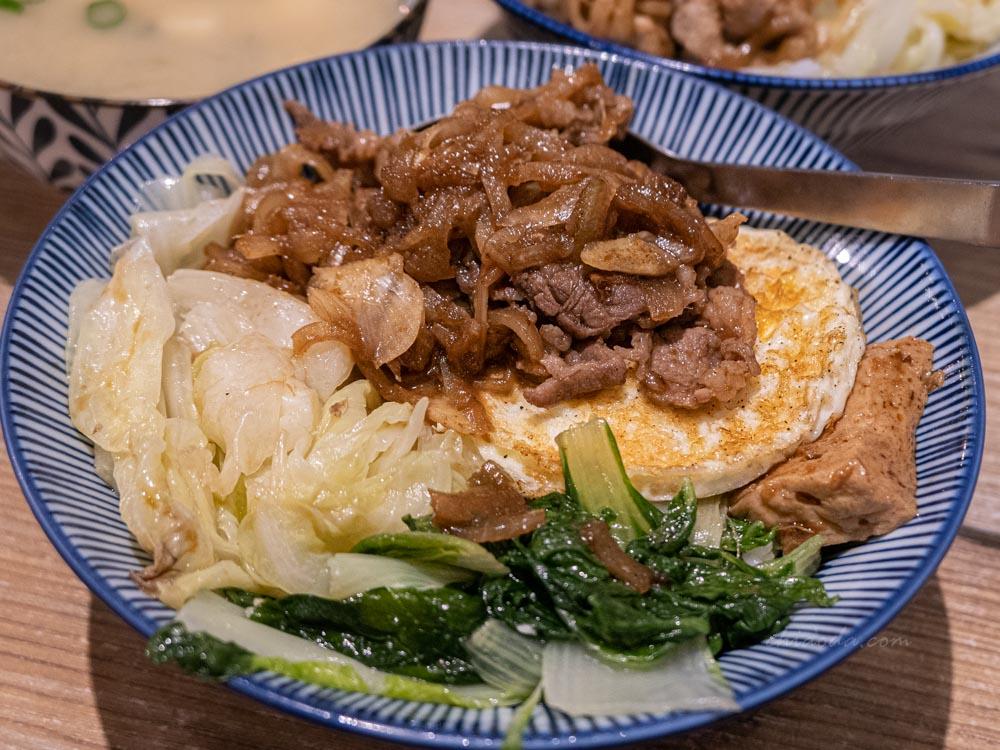 春風稻 和風牛肉丼飯 台中平價丼飯