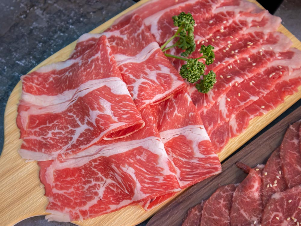 銄鍋 牛肉雙拼 台中冷藏肉火鍋