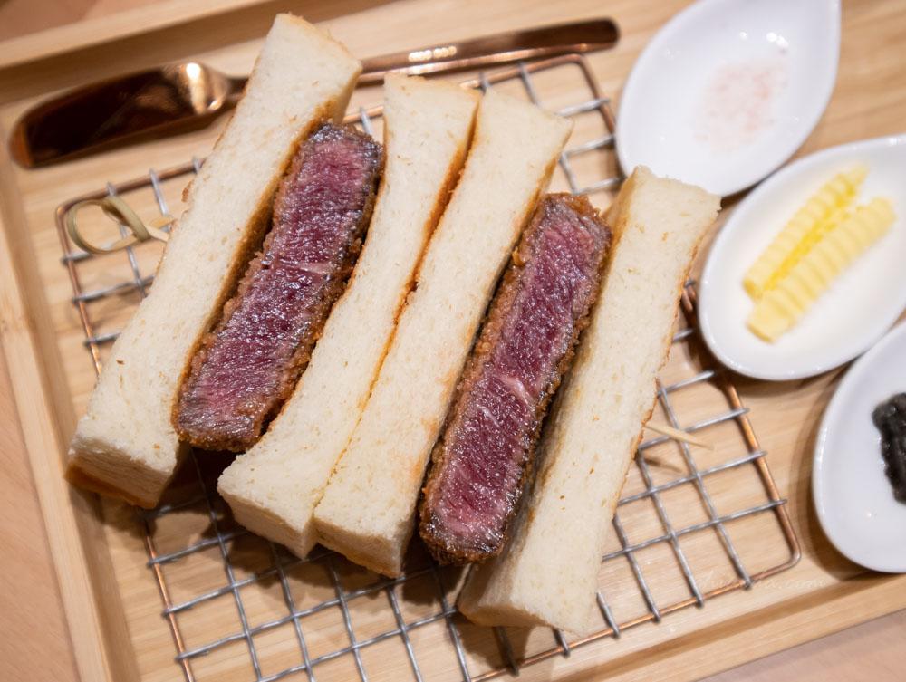 嵐山 炸牛菲力三明治