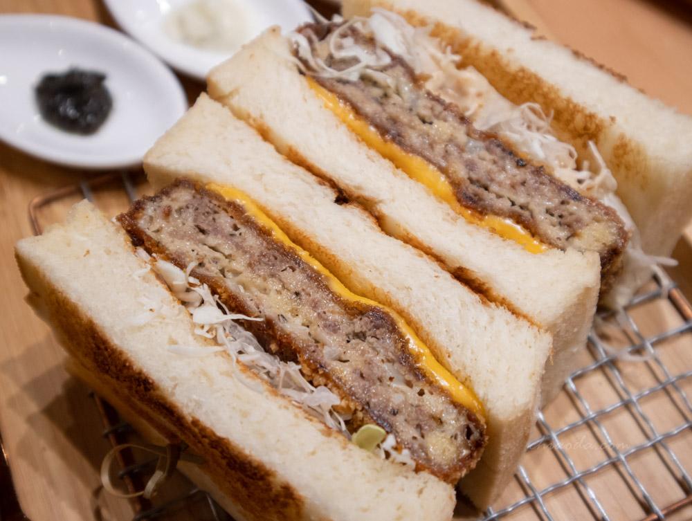 嵐山炸牛排 炸和牛漢堡三明治