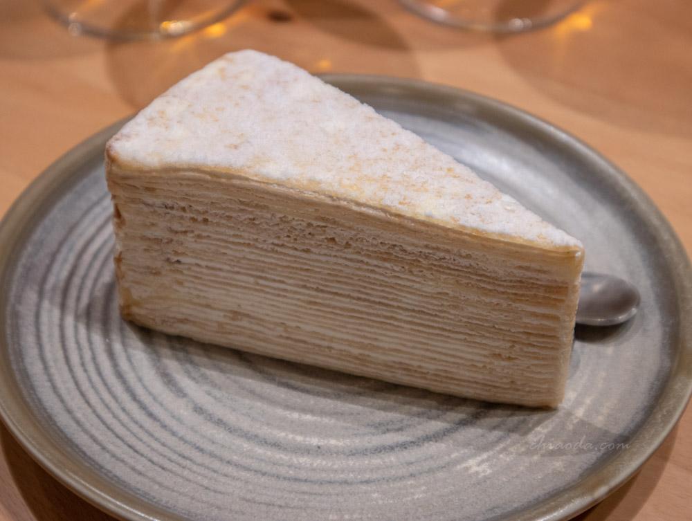 嵐山炸牛排 法式千層蛋糕