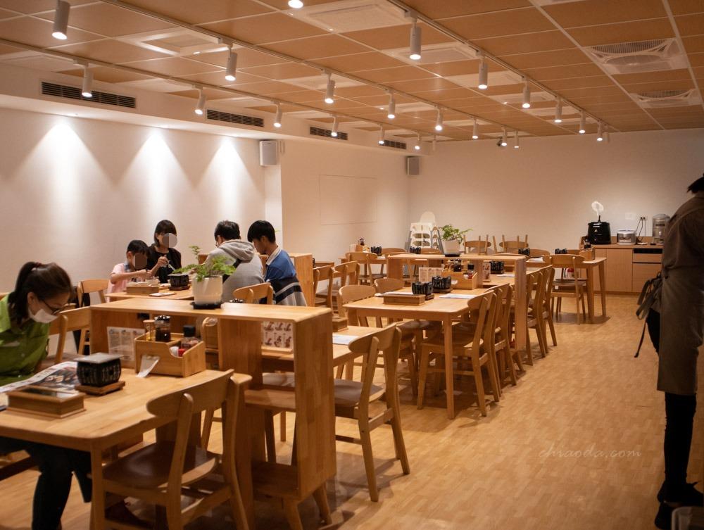 嵐山炸牛排健行店 內用環境 台中市區聚餐推薦