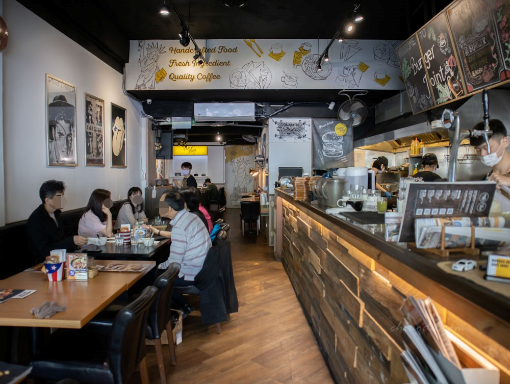 Burger Joint 7分so 華美店 勤美餐廳推薦