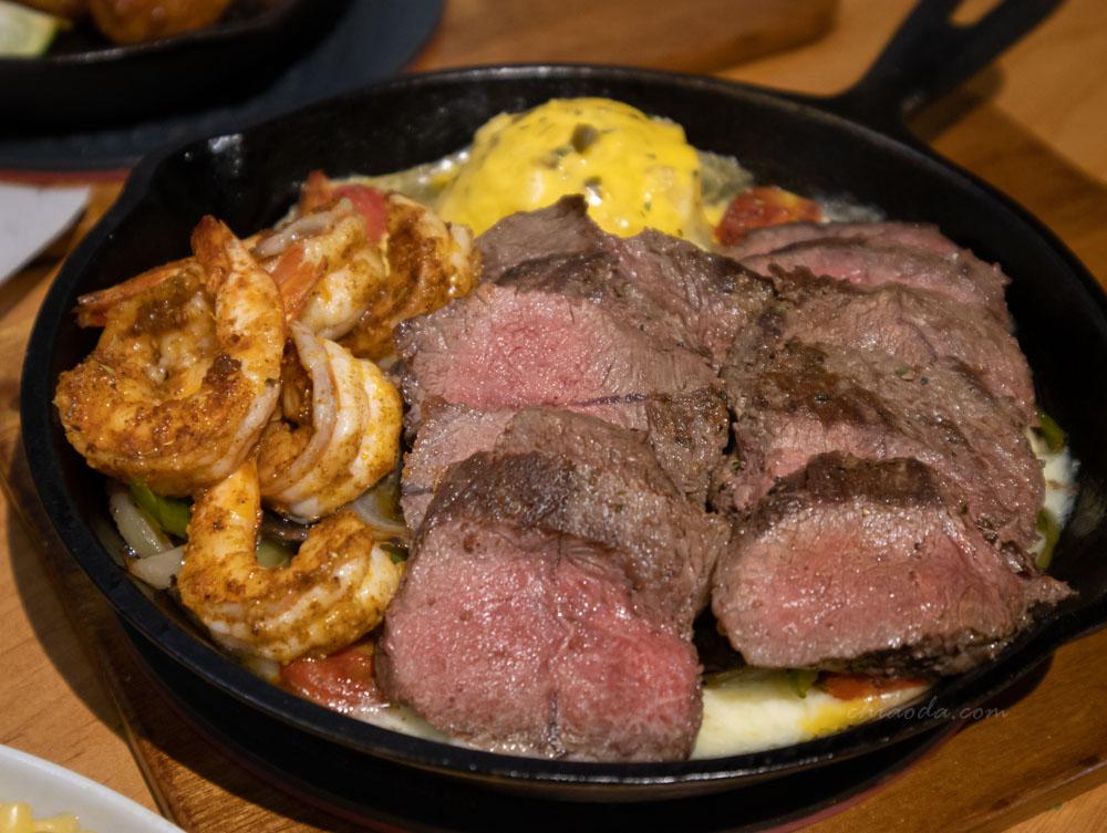 7分SO 老芝加哥鐵板起司鮮蝦牛肉 台中排餐推薦