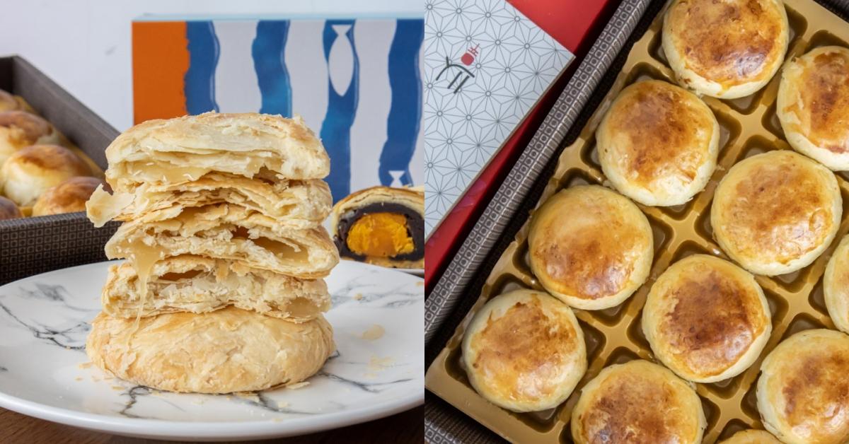 意緣食品|台中太陽餅推薦!65年太陽餅老店,超猛的勘西太陽餅,不甜不膩超酥脆,一片只要$20!