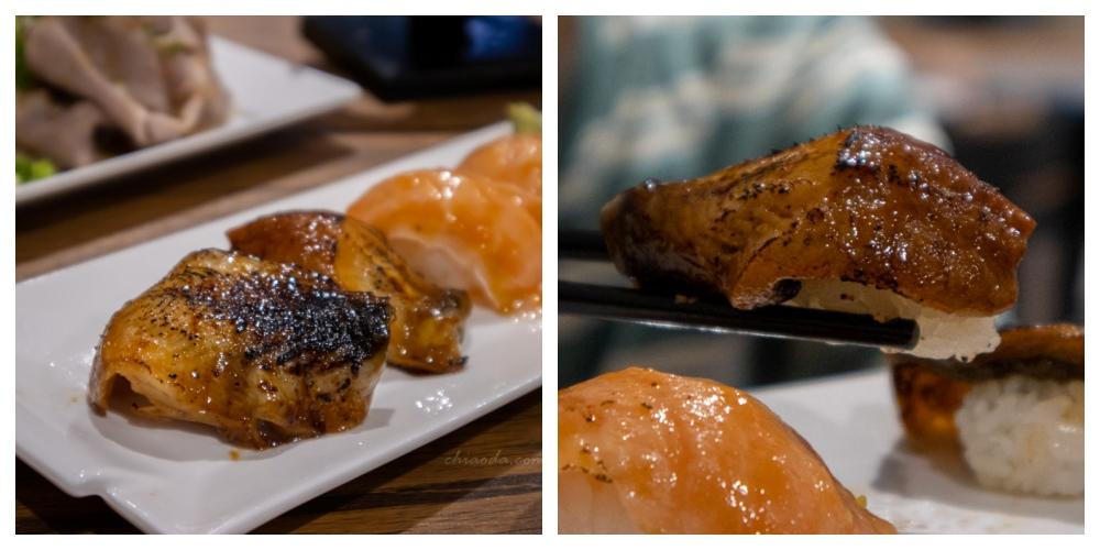安曇野食卓 炙燒鰻魚握壽司 台中壽司推薦