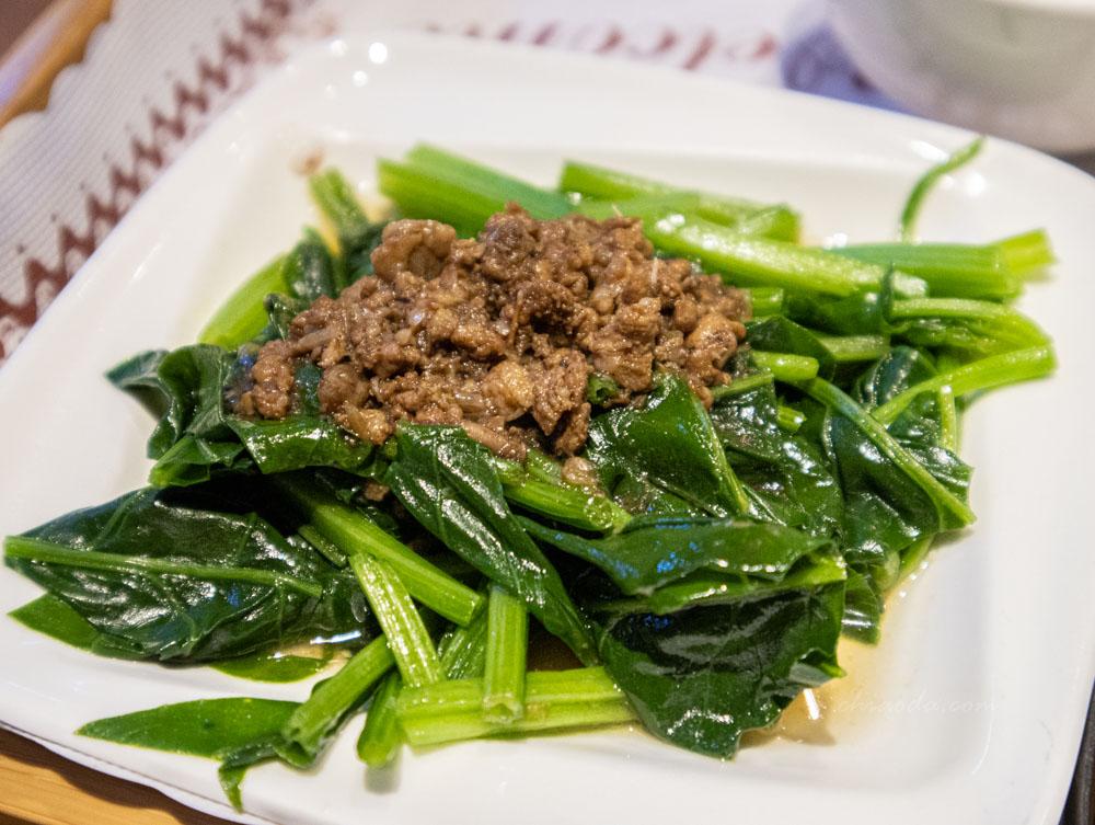 田寮農莊 套餐燙青菜