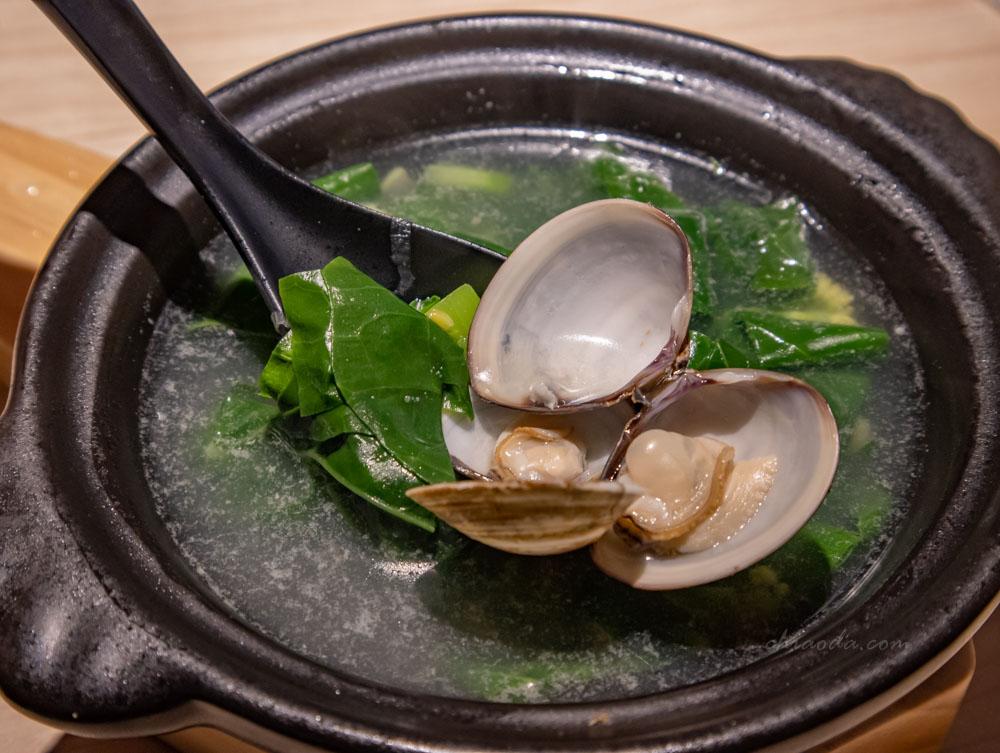 花一番 招牌煨芥蘭菜湯