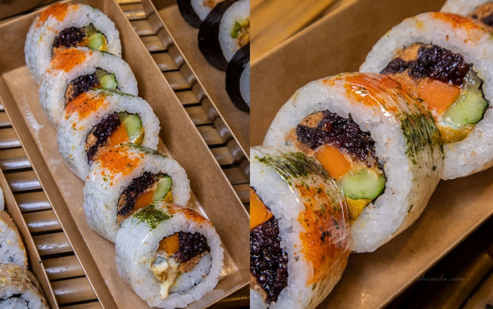 霜月壽司 魚卵花壽司
