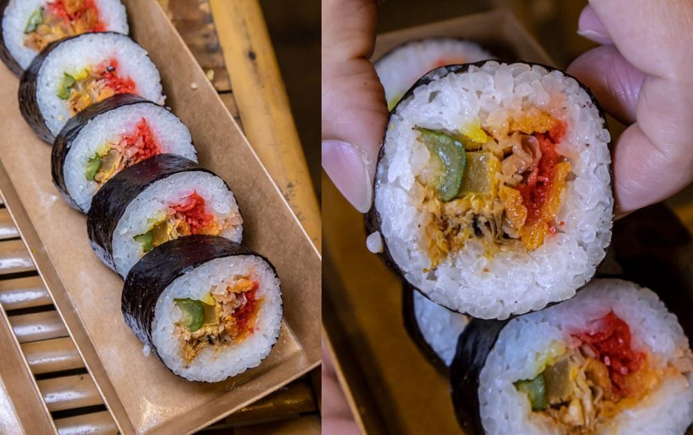 霜月壽司 素食花壽司 素食壽司捲