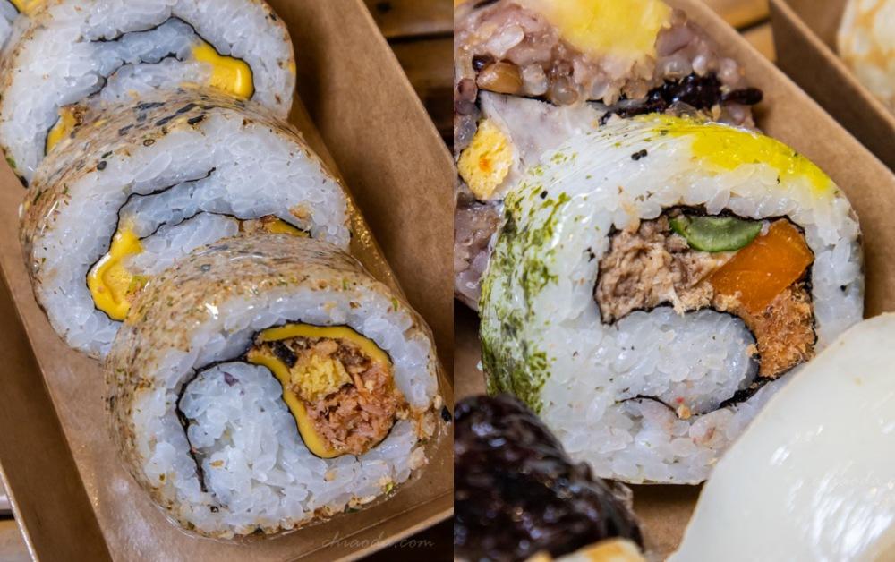 霜月壽司 起司鮭魚壽司 鮪魚壽司