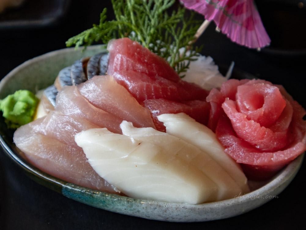 石頭燒肉豐原店 生魚片