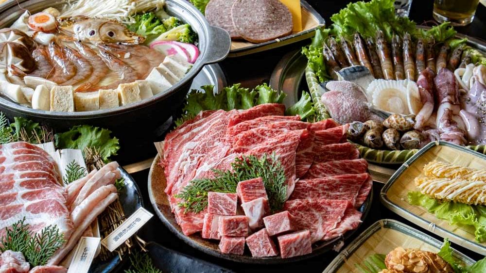 石頭日式燒烤豐原尊貴館|豐原燒肉吃到飽推薦!多達140種品項任選,還可加價極黑和牛、伊比利豬吃到飽~