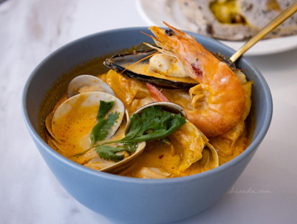八又三分之一 叻沙椰奶海鮮湯