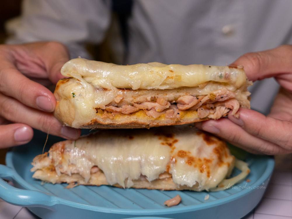玖點 風味雞焗烤三明治