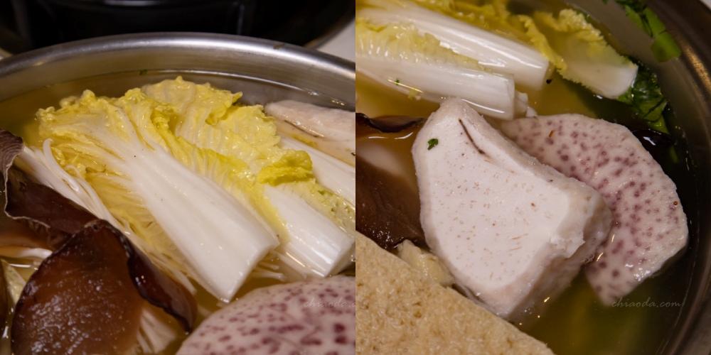 五鮮級火鍋 和美道周店 火鍋菜色