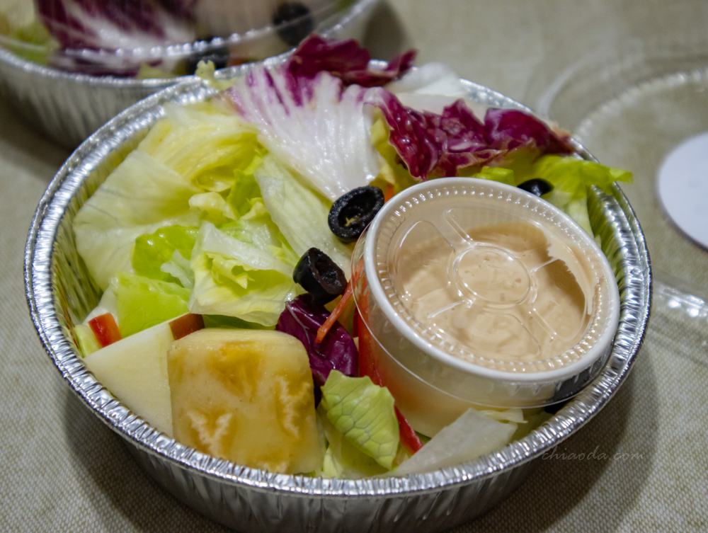 西堤外帶 綜合生菜沙拉
