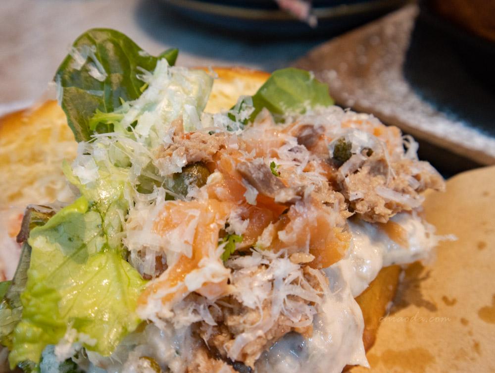 貝塔 beta brunch & bistro 鮪魚沙拉奶油排包三明治