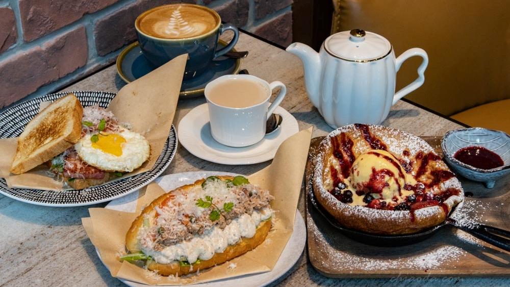 貝塔Beta Brunch&Bisstro|台中老虎城周邊精緻早午餐推薦!晚上搖身一變成高質感氛圍酒吧~