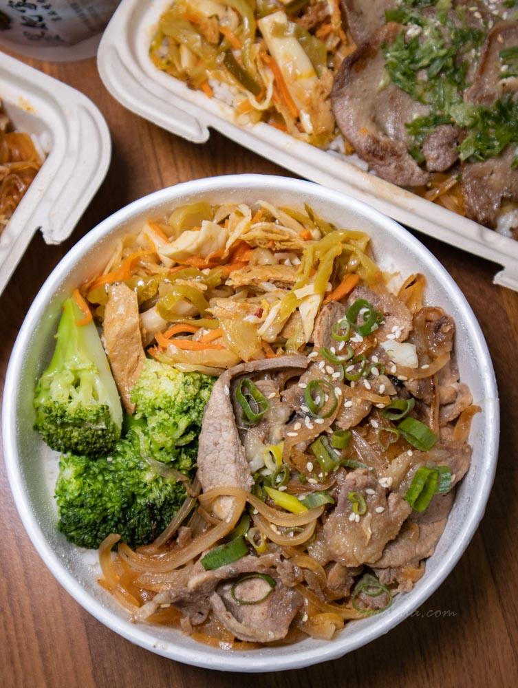 墨妃家外帶 醬燒豬肉飯 台中南屯外帶餐盒