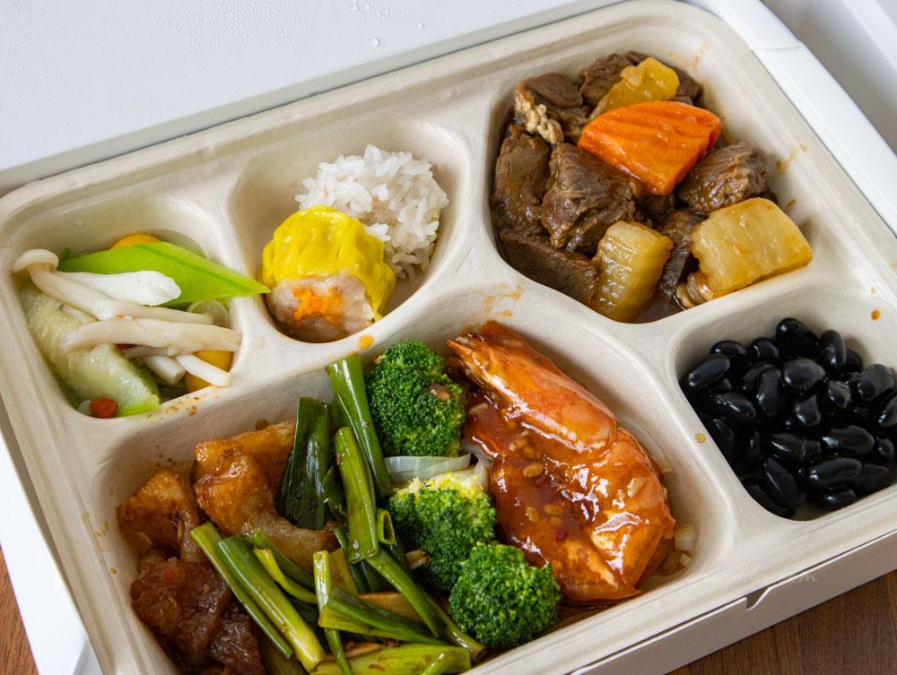 台中福華外帶 羨食餐盒 中式餐盒