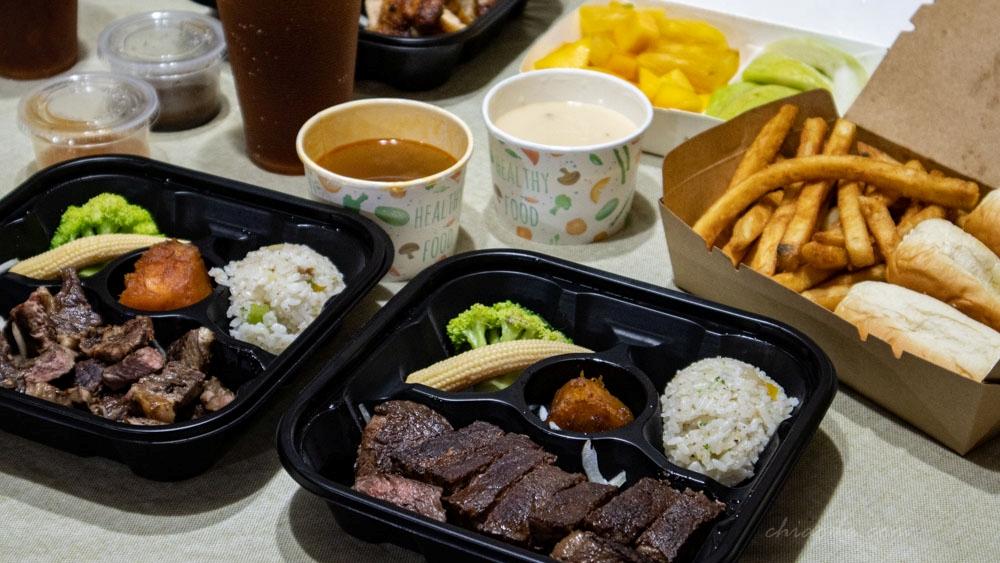熱火美式牛排 大雅外帶餐盒推薦!牛排外帶優惠$290起,附餐超澎湃,飽到不行!