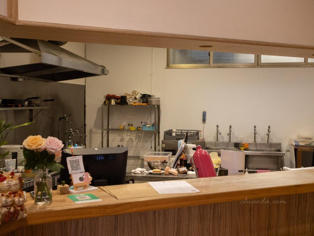 小鍋甜點 開放式廚房