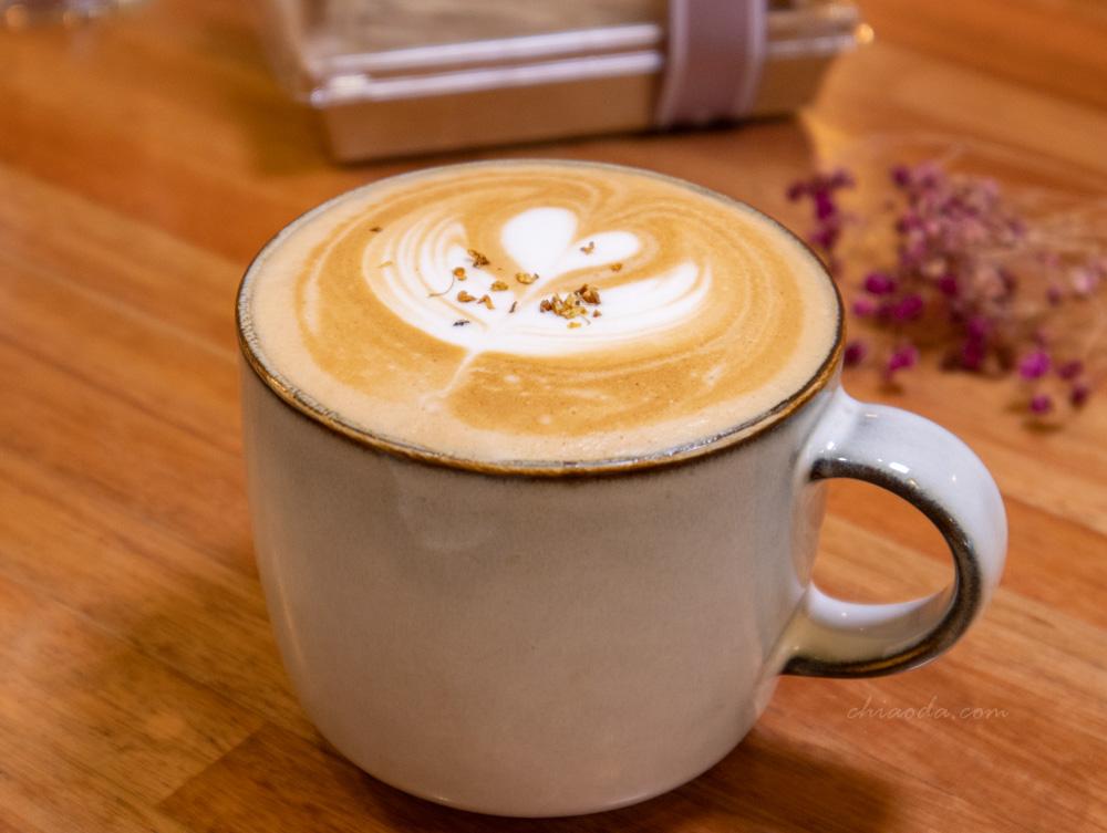 小鍋甜點咖啡 桂花拿鐵