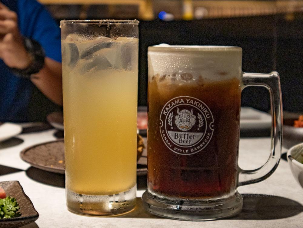 燒肉風間 當日飲品 奶油啤酒無酒精