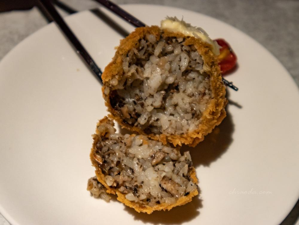 燒肉風間 松露野菇炸飯糰