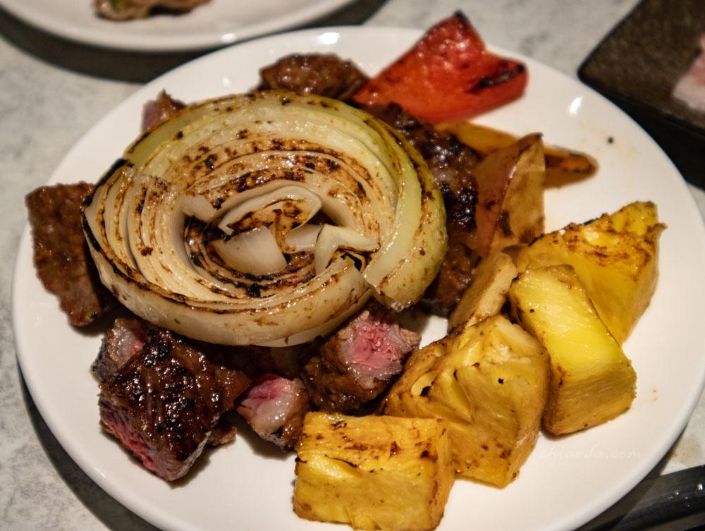 燒肉風間 豐收果物牛肋脊肉