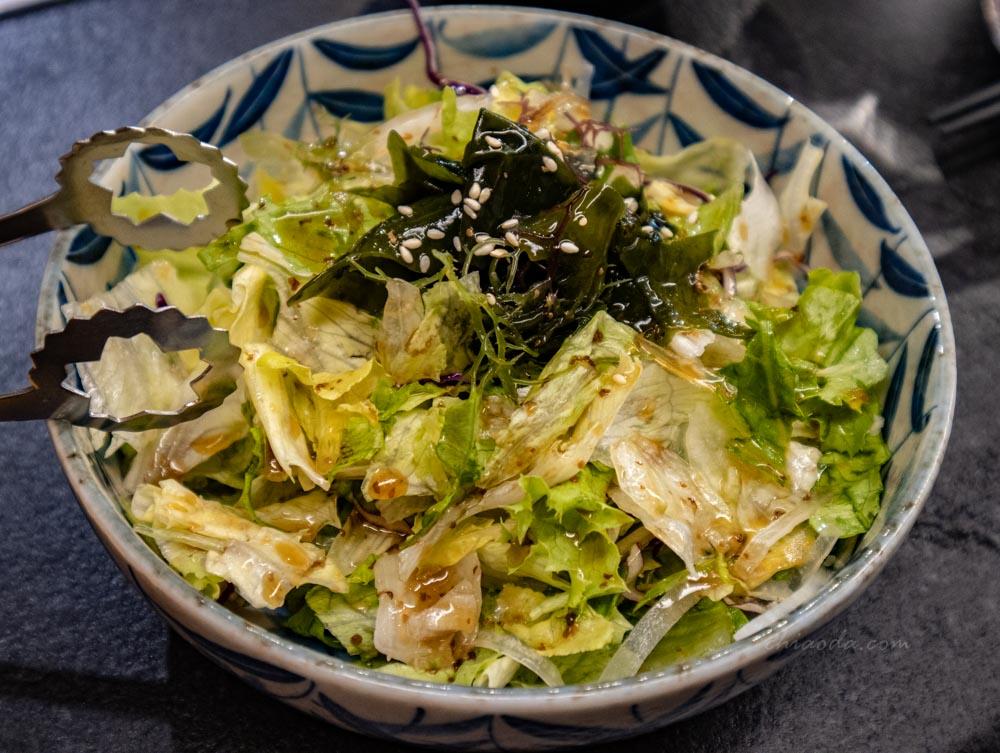 板前燒肉一徹 柚香海藻時蔬沙拉
