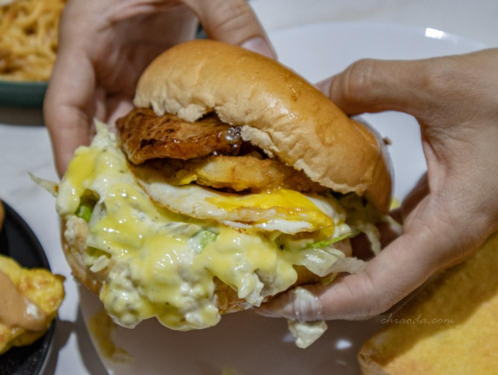 當個晨食人 蒲燒鯛魚鱈魚漢堡