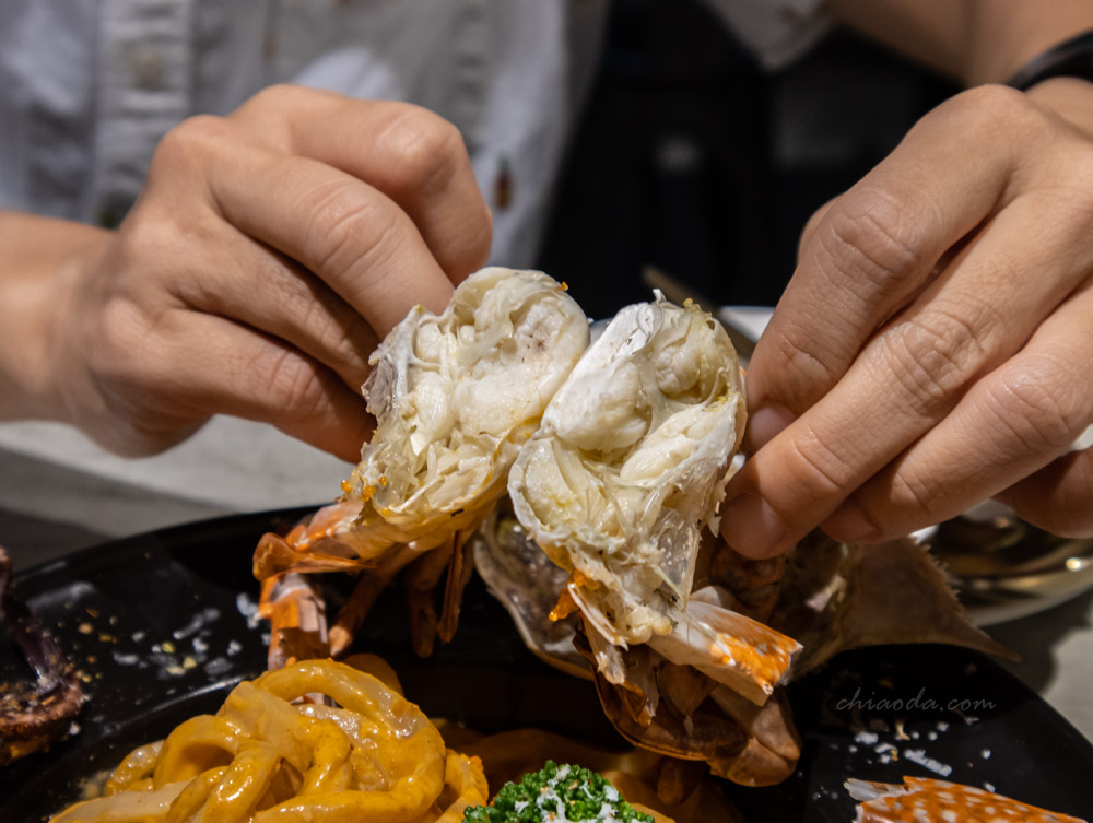 8德司 巨腳威蟹 海鮮義大利麵