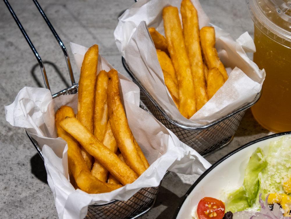 8德司 套餐薯條
